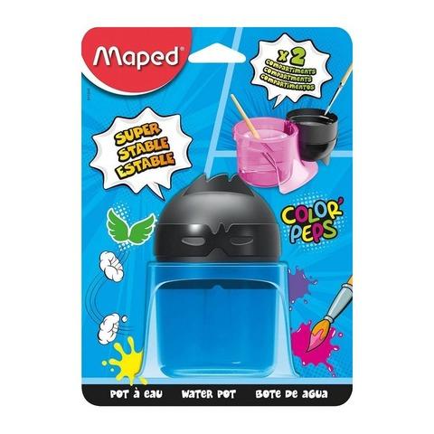 Mezclador Plástico Vaso Maped Azul