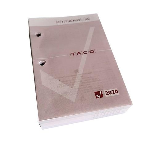 Taco Calendario 2020
