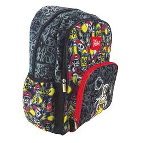 Mochila PPR Big Pocket Graffiti 17Pgdas
