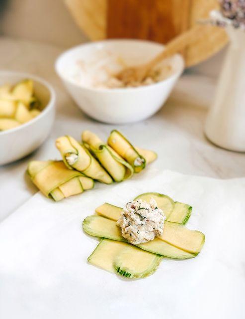 Ravioles de Zucchini