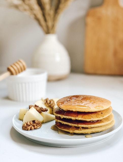 Mis adorados Pancakes (Con solo 3 ingredientes)