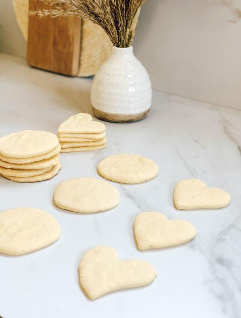 Masa básica de galletitas
