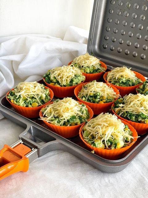 Muffins de verdura