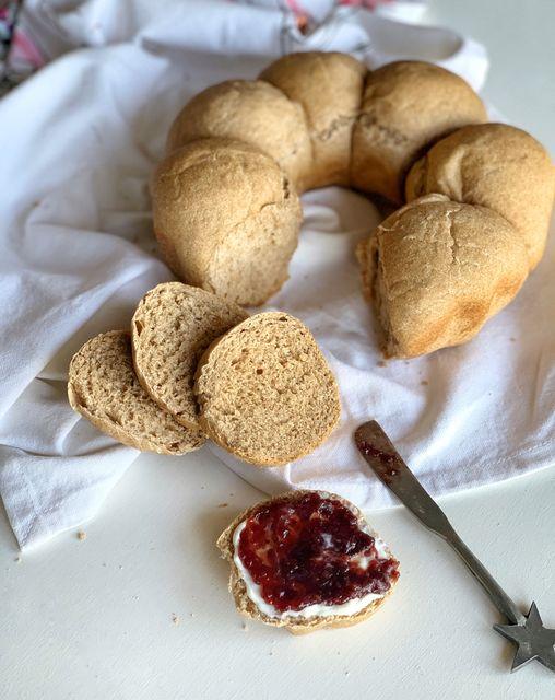 Pan integral a la cacerola