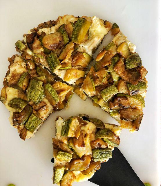 Falsa galette de Zucchini