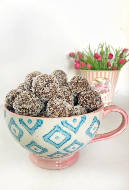 Coquitos de chocolate