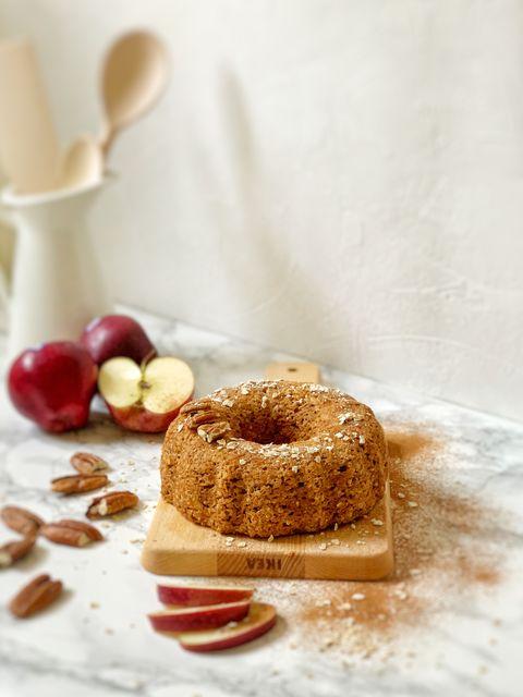 Bundin de manzana saludable