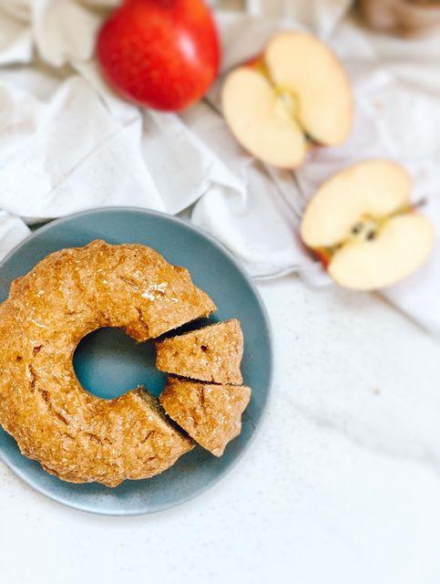 Manzana, canela y coco