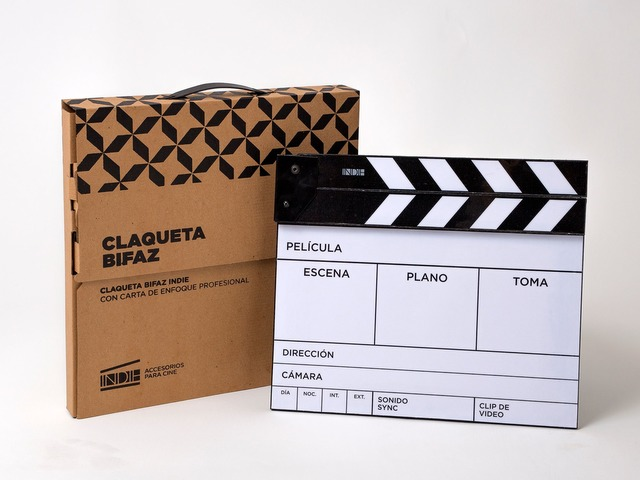 Claqueta Bifaz