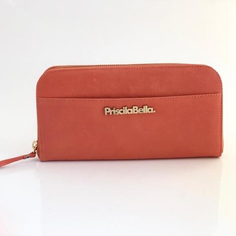 Billetera Premium (Coral, Suela, Negro)
