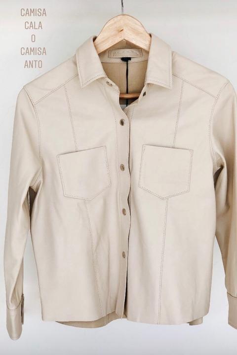 Camisa de cuero Anto