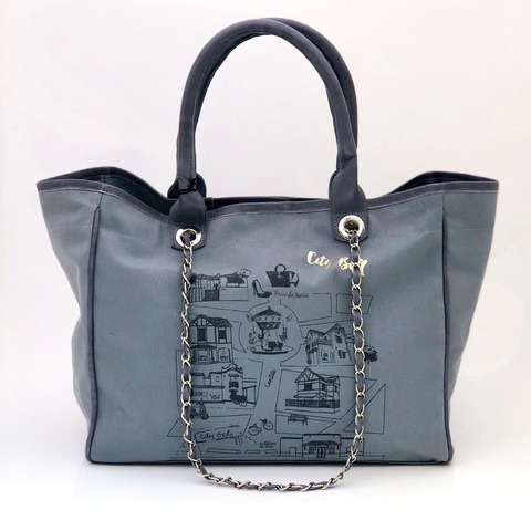 Bolso City Bell Gris