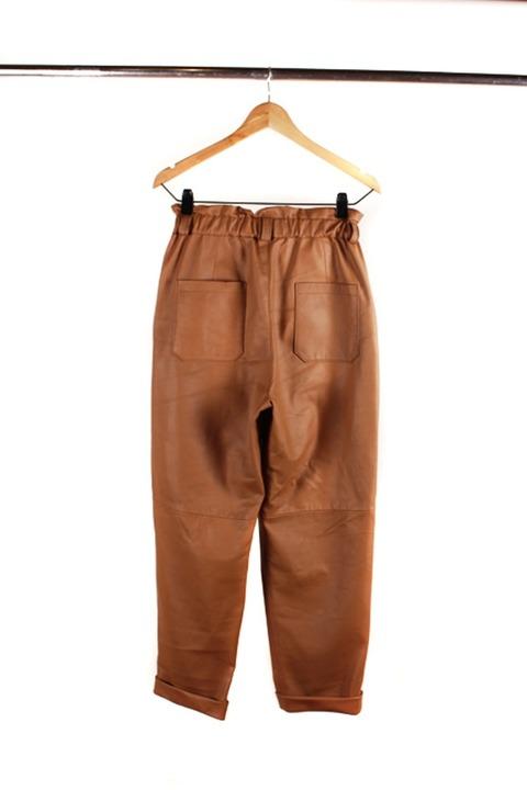 Pantalon de cuero Ondina