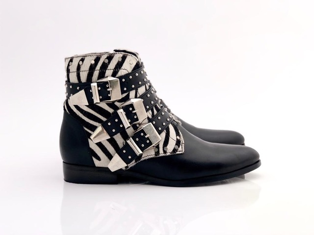 Bota Hebillas Animal 409