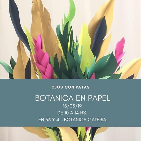 Taller Botanica en Papel
