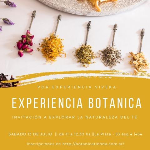 Experiencia Botanica