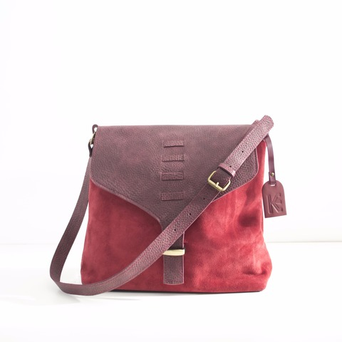 Cartera Maya Bordo Comb.