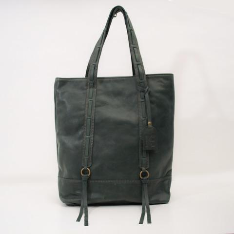 Tote Bag Dory Cuero Verde