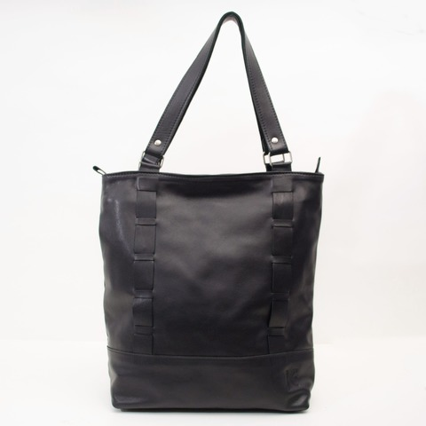 Tote Bag Lea Cuero Negro