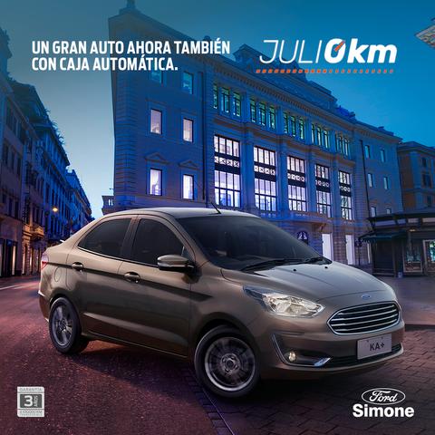Llegá a tu nuevo Ford con Simone y Julio 0km