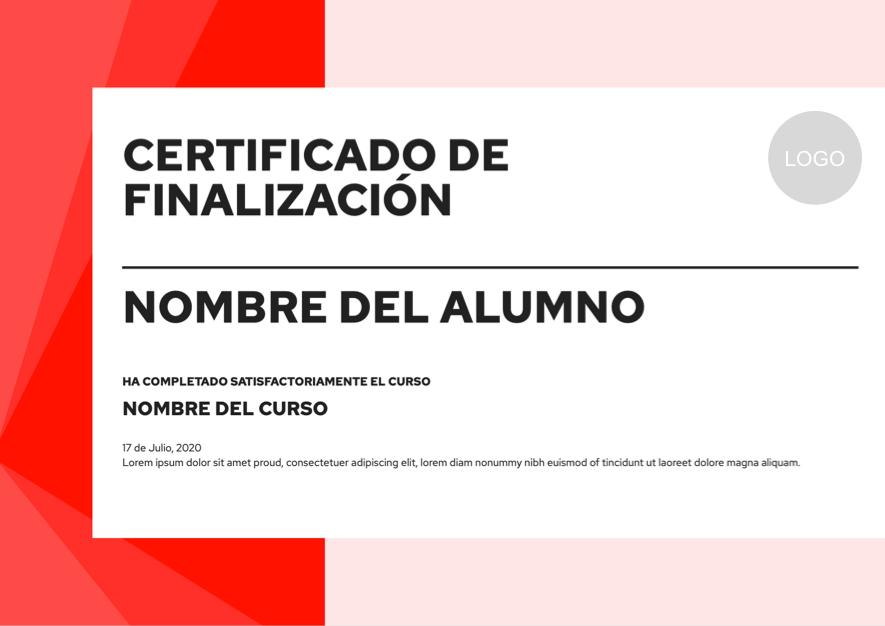Diseño de certificado dinamico