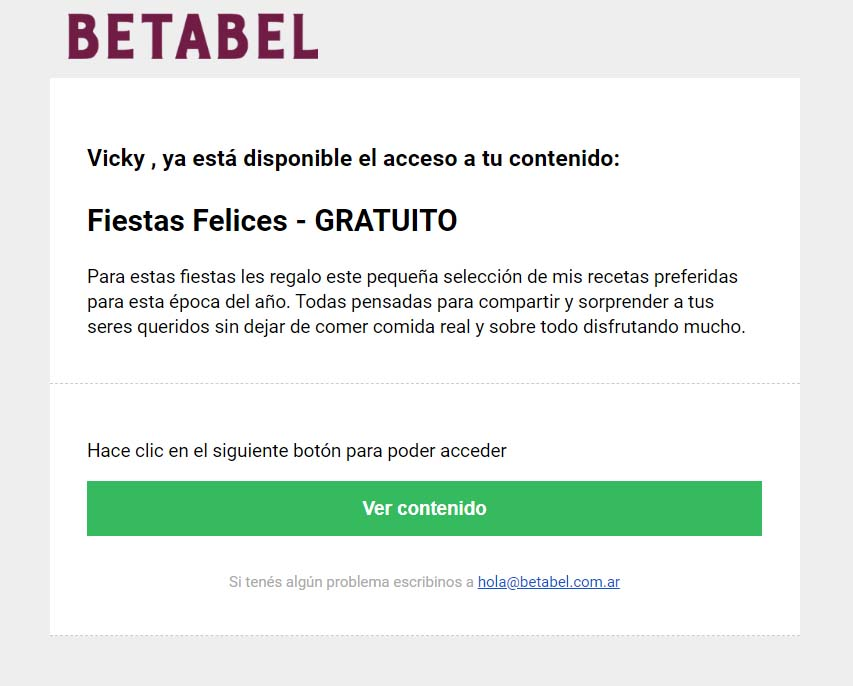 Mail Descargable